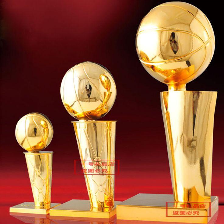 Larry O'Brien Trofeo Del Campeonato Nacional de Baloncesto 45 CM NBA