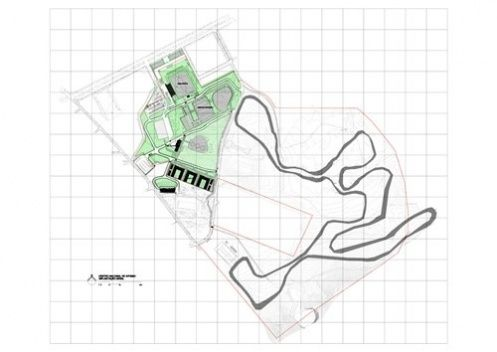 Rio's Olympic Equestrian facility layout, including a cross-country map  |  Complexo Esportivo de Deodoro (CED) | vitruvius