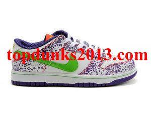 Nike Dunk Low Premium Quickstrike Day Of The Dead Mexico White Purple