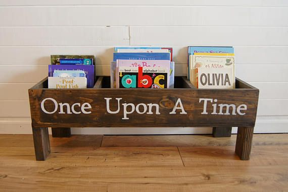**This listing is for a storage box that is 36 inches long. For different sizes check out the links below. This storage box is perfect for your childs nursery or big kid room. It is the perfect size to sit in front of or beside your childs bed for easy reach of all his or her favorite things. This size easily fits 100 books, or a mix of books, toys, stuffed animals and beloved blankets. The box can also be personalized with any name for an extra $10 fee. This name would be painted by hand in…