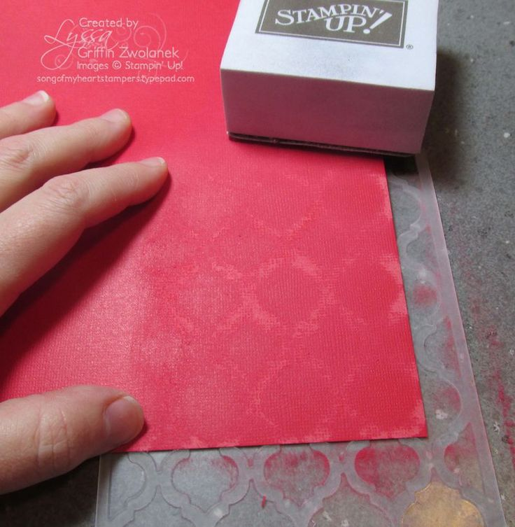 Lyssa's Patterned Sanding Technique using Core'dinations card stock and an embossing folder but no Big Shot.