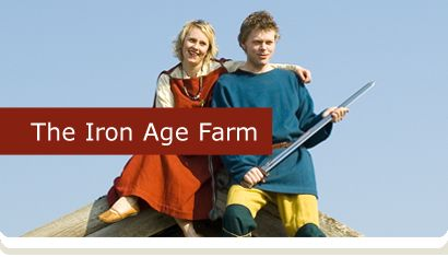 The Iron Age Farm/Viking Farm. Part of the Museum of Archaeology in Stavanger and near the campus to University of Stavanger