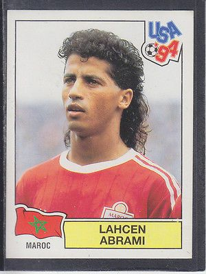 #Panini - usa 94 world cup - # 400 #lahcen abrami - maroc (black #back), View more on the LINK: http://www.zeppy.io/product/gb/2/291463625597/