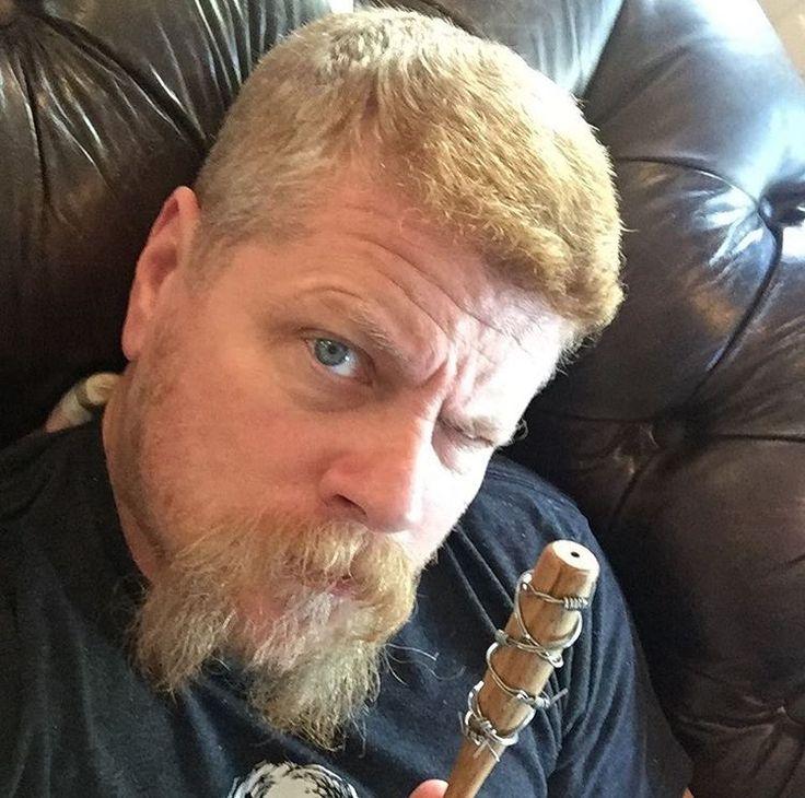 Abraham holding mini Negan bat. #Awesomeness