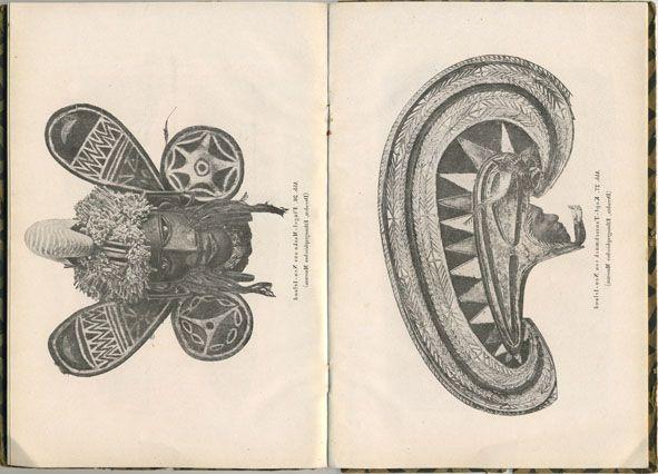 From Exotische kunst Afrika und Ozeanien, Leipzig, 1921