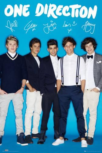 Signature » One Direction » Musikplakater » Plakat