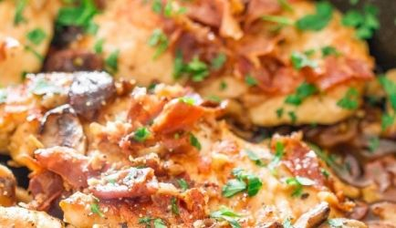 Kip Met Shiitake, Prosciutto En Marsala recept | Smulweb.nl