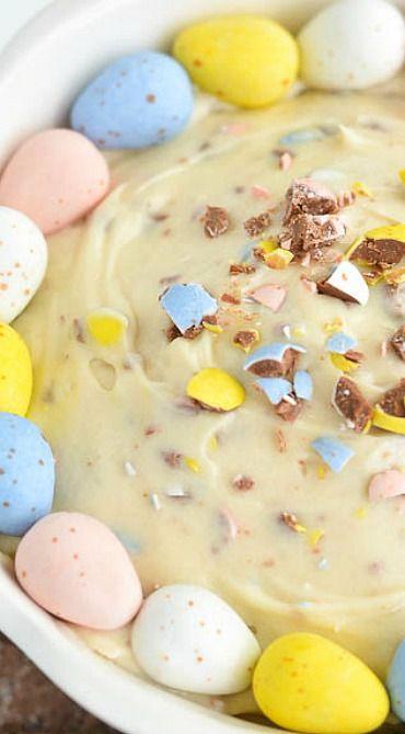 Cadbury Mini Eggs Dip