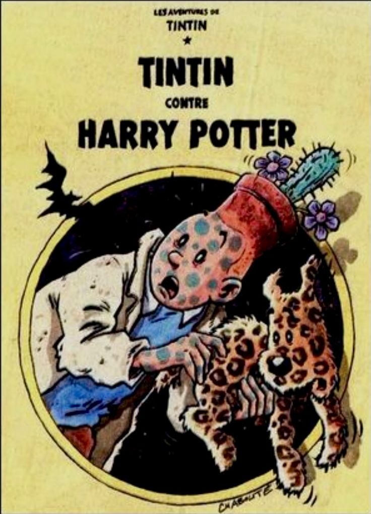 Tintin contre Harry Potter
