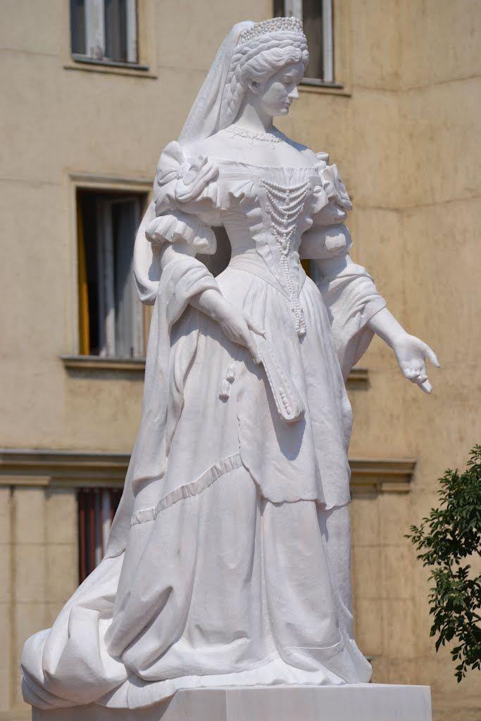 Elizabeth statue,Nagykanizsa