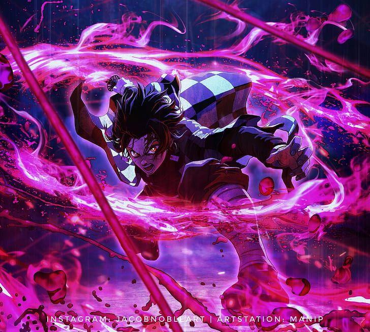 HD wallpaper Anime, Demon Slayer Kimetsu no Yaiba