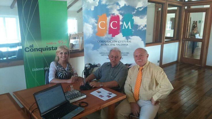 Programa de cultura radio el conquistador de Valdivia 95.7 FM