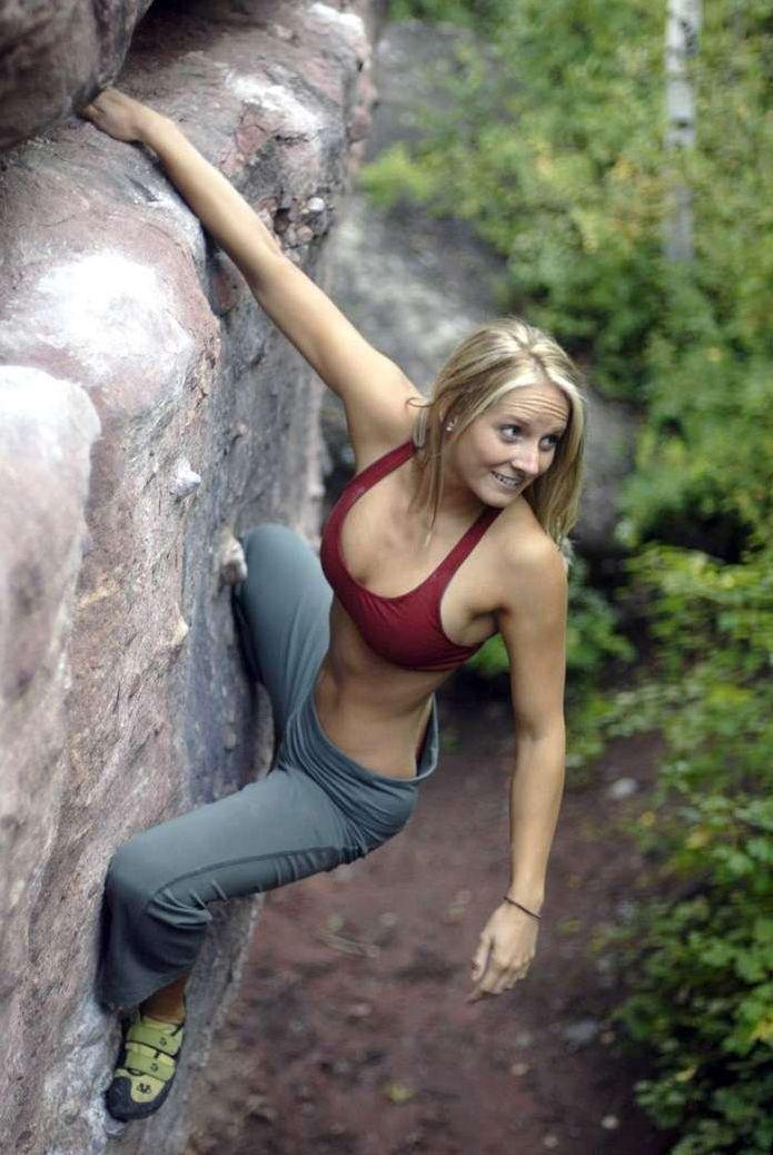 Climbimg swings nude sex