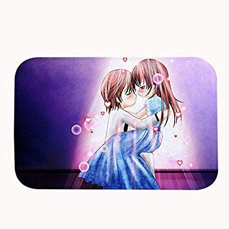 """Whiangfsoo anime coppie romantiche soggiorno area tappeti per San Valentino, #03, 20"""" x 32""""(50 x 80cm)"""