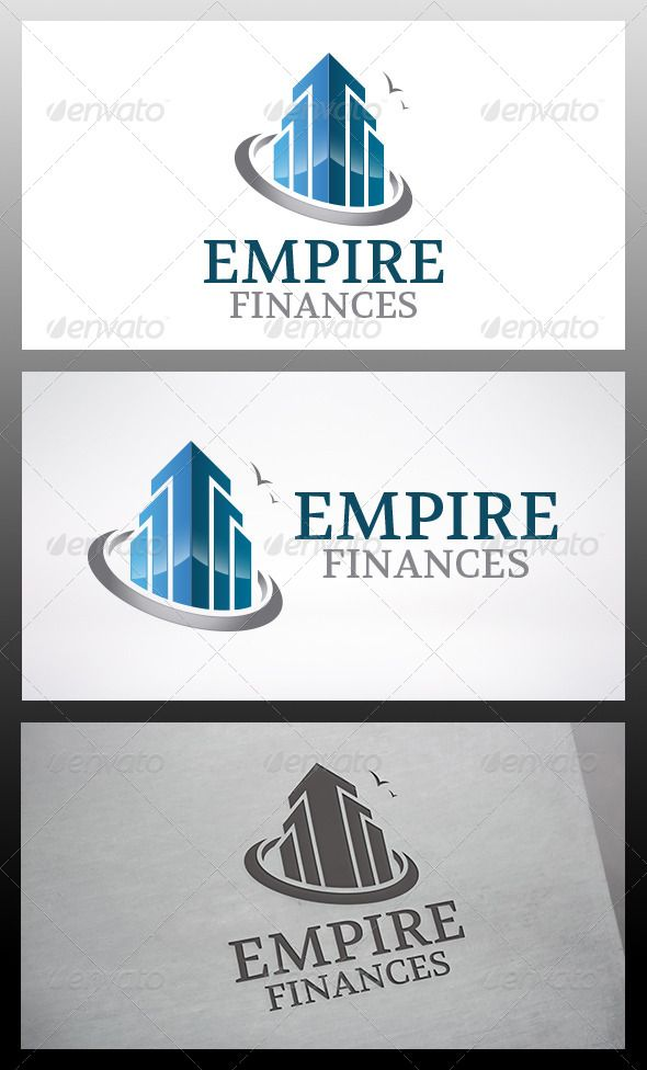 Empire Logo #GraphicRiver - Three color version: Color, greyscale and single color. - The logo is 100% resizable. - You can change text and colors very easy using the named and organized layers that includes the file. - The typography used is Volkhov you can download here: .fontsquirrel /fonts/volkhov Created: 10 December 13 Graphics Files Included: Vector EPS #AI Illustrator Layered: Yes Minimum Adobe CS Version: CS4