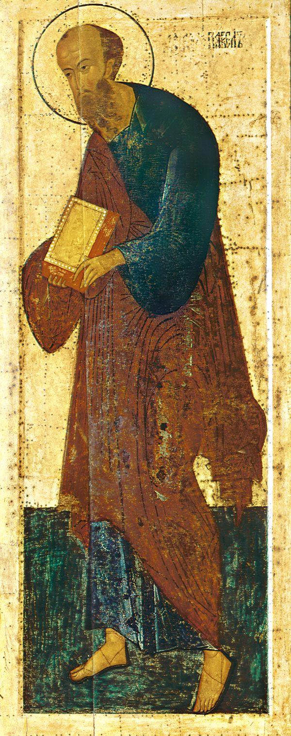 Апостол Павел. Дионисий и мастерская. Ферапонтов Белозерский монастырь. Собор Рождества Богородицы. 1502 год