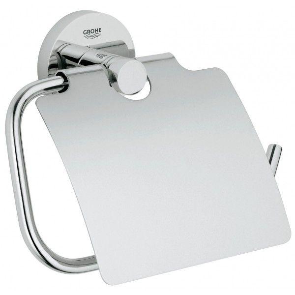 Держатель туалетной бумаги GROHE Essentials с крышкой хром 40367000