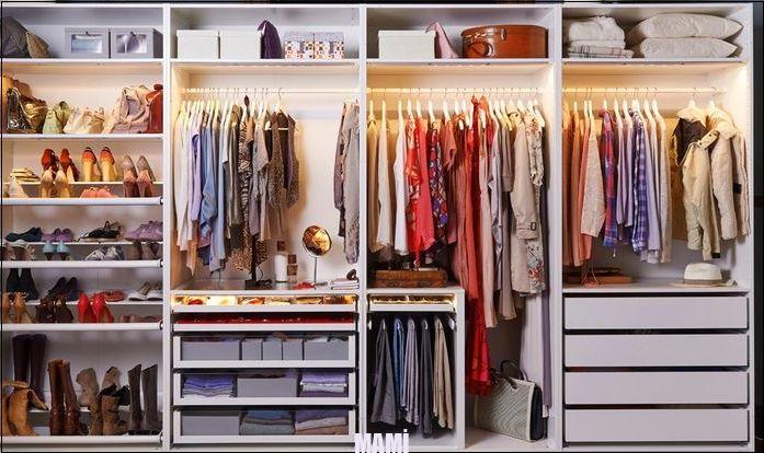 Welcher Neue Begehbare Kleiderschrank Von Ikea Begehbare Der