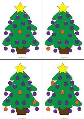 Kersttelkaarten 1 - 20 Juf Sanne