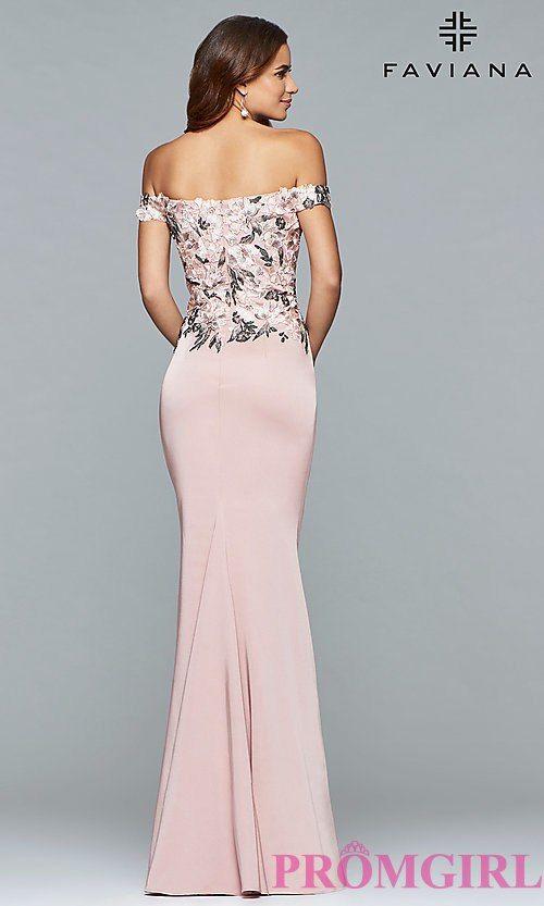0df495741e3 Style  FA-S10021 Back Image Plus Size Prom Dresses