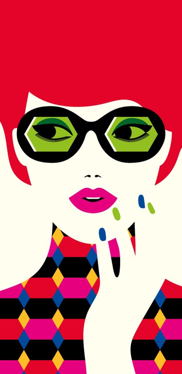 <3 Malika Favre <3 / Sunglasses inspired in Carla Di Sí's model PUNTA'S <3