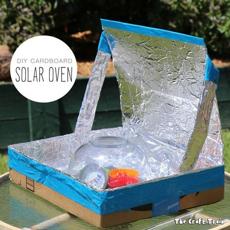 how to make a solar oven for kids