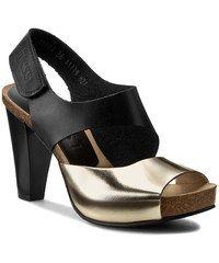 Sandály NESSI - 42103 Czarny 11/Złoty F