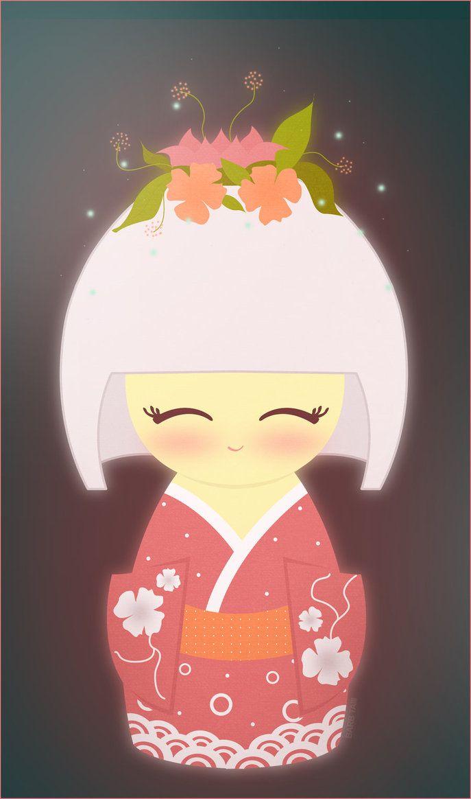 Kokeshi Illustration