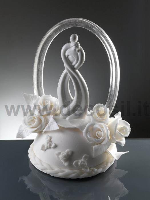 Stylized Couple Heart wedding cake topper, wedding cake toppers, wedding cake tops, wedding cake 3D figurines