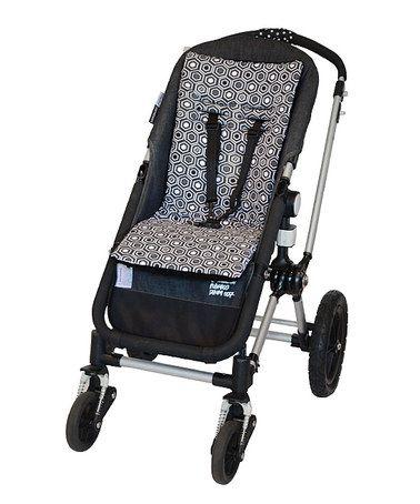 Look at this #zulilyfind! Black Cush 'n' Go Stroller Cushion #zulilyfinds