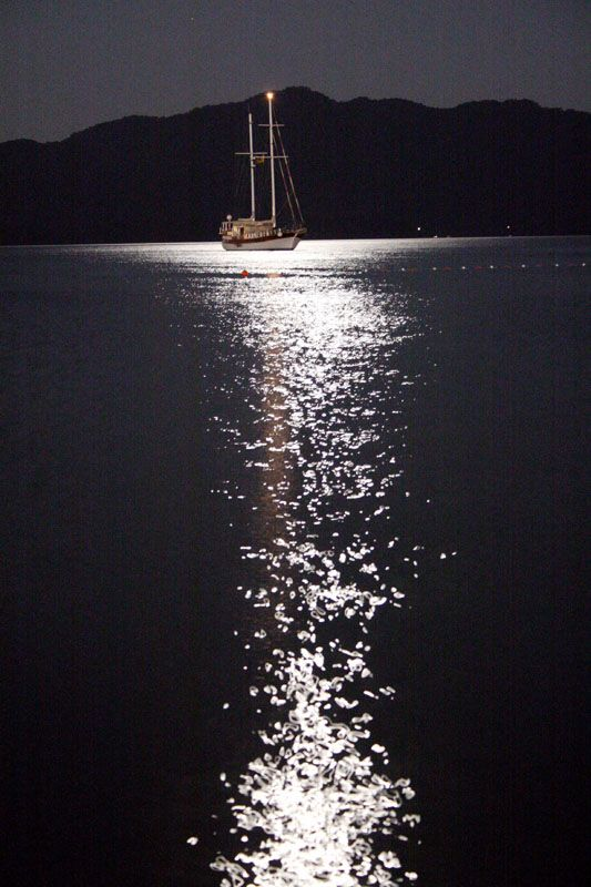 Moonlight - Marmaris, Turkey Copyright: akino matata