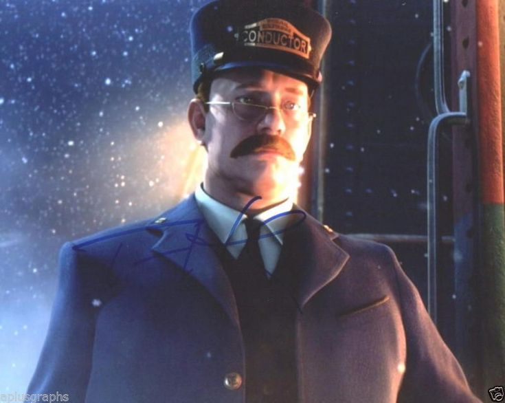 TOM HANKS.. The Polar Express' Conductor - SIGNED