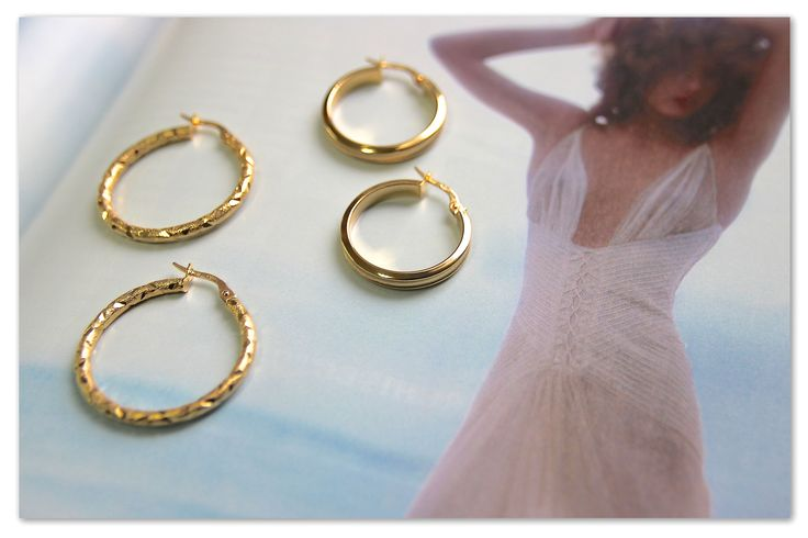 【2015 FW new collection】UNOAERRE Italian Jewelry ピアス18K:左¥45,000+tax/右¥43,000+tax