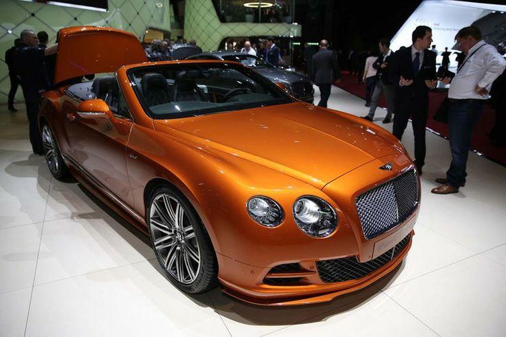 Targi Genewa 2014   Bentley Continental GT Speed