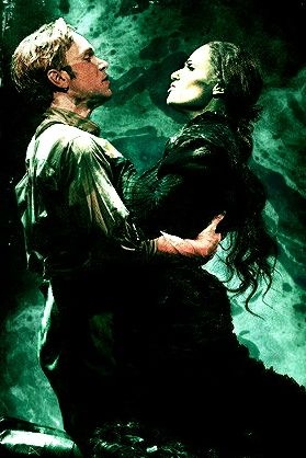 ''As long as your mine, I've lost all resistance and crossed the borderline'' easily one of my favorites from Wicked <3