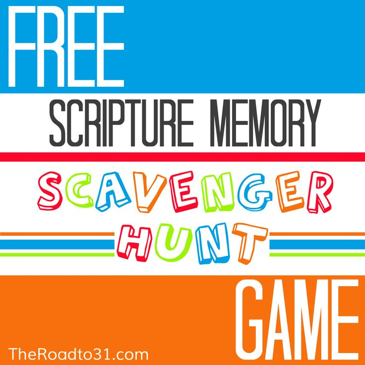 It is pretty cold outside right now for many around the nation. Here is a fun game that you can do indoors with the kids where it is warm! Get your download for a FREE Scripture Memory Scavenger Hunt GAME! Included in this FREE Printable pack is 20 colorful cards. Use these cards to practice Scripture memory as well as sight word reading.