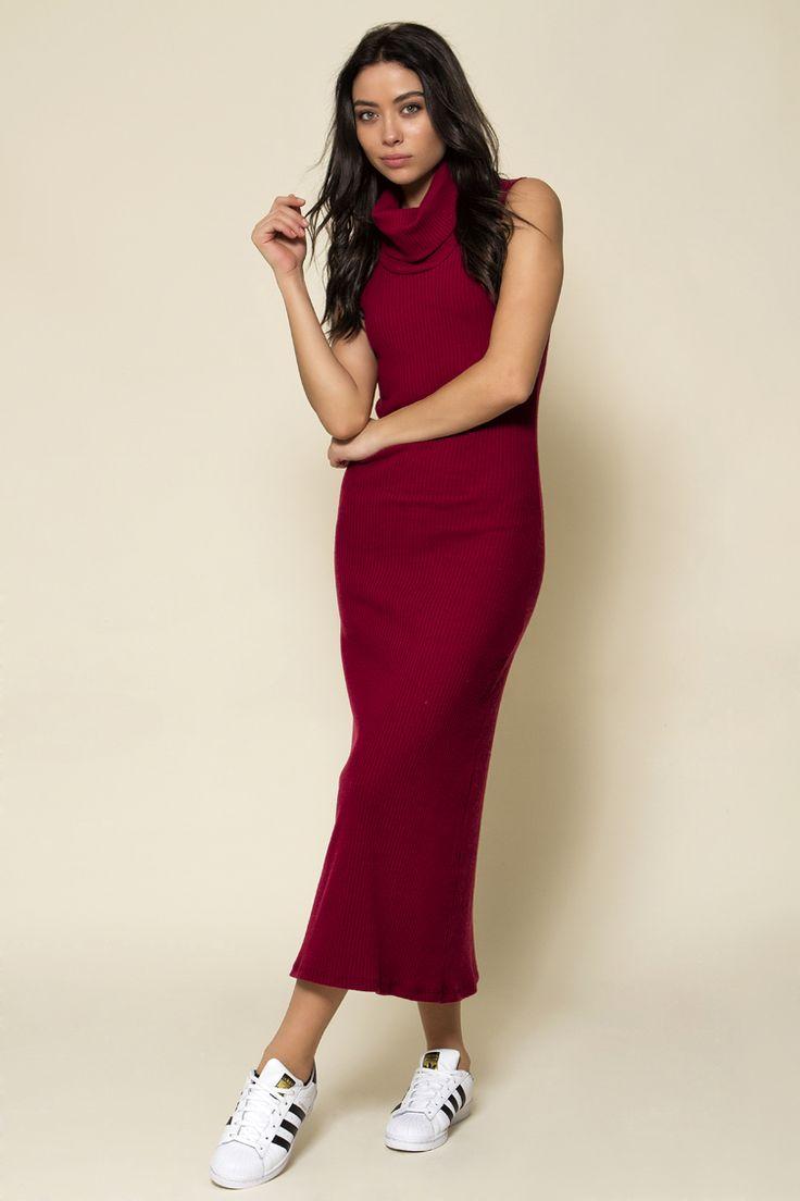 Ribbed Maxi Φόρεμα - ΡΟΥΧΑ -> Φορέματα & Φόρμες   Made of Grace