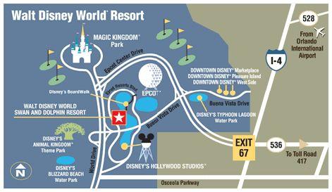 Walt Disney World Resorts
