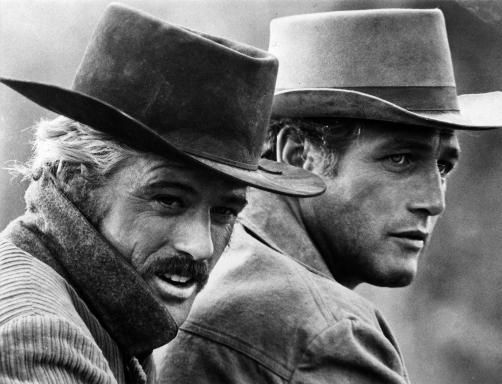 Butch Cassidy & Sundance Kid, Usa, 1969 diretto da George Roy Hill,con Paul Newman, Robert Redford, Katherine Ross.