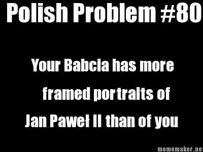 polish problem