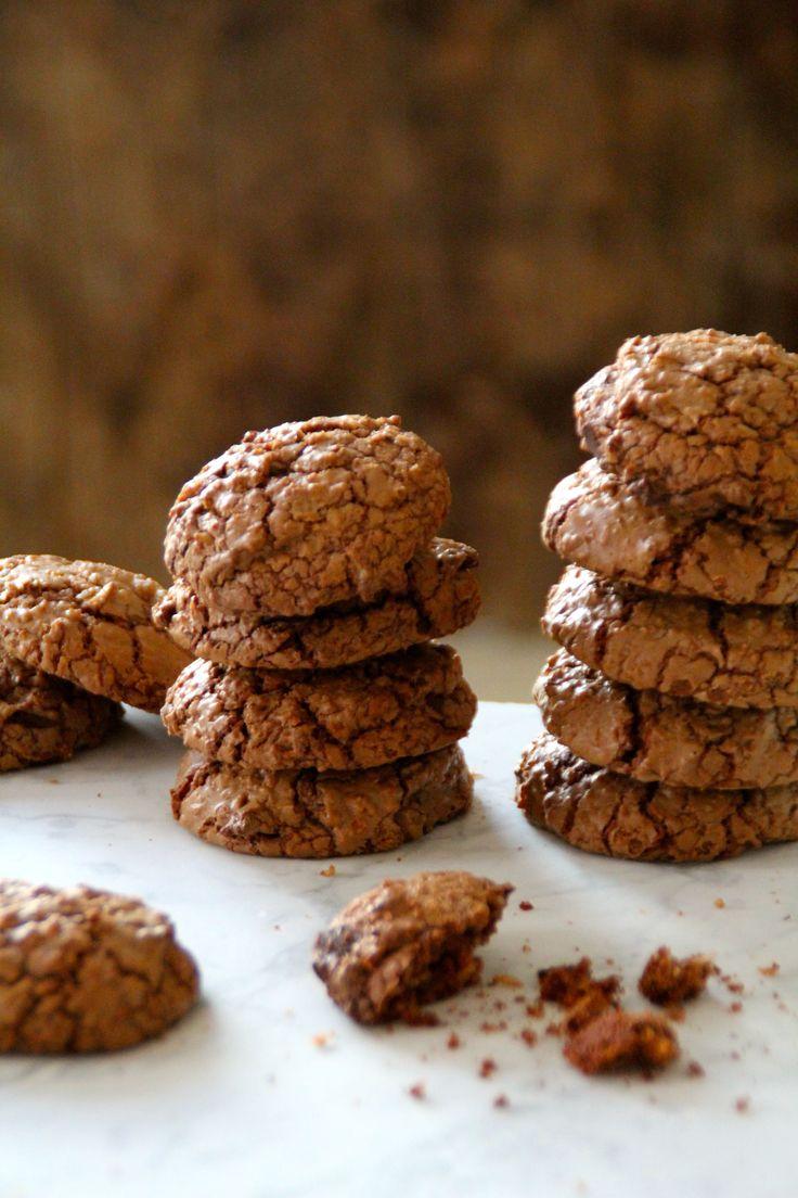 Sjokoladekjeks med kokos er bare en av mange deilige oppskrifter på bakst som du finner på bloggen Mat på Bordet.