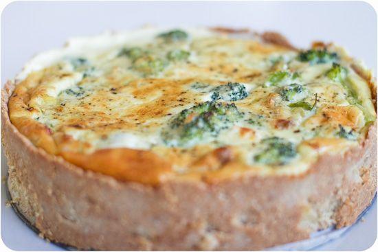 Broccoli & Ädelostpaj LCHF