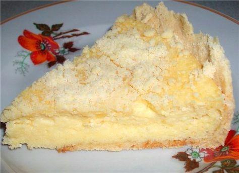 Пирог с творогом — готовится быстро и просто тает во рту!   NashaKuhnia.Ru