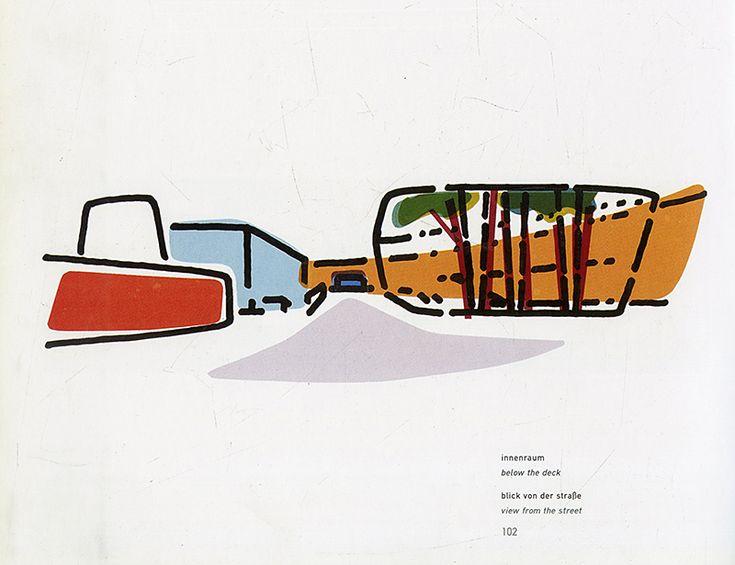 Sauerbruch Hutton. Projekte 1990-1996, Birkhauser 1996: 102 | RNDRD