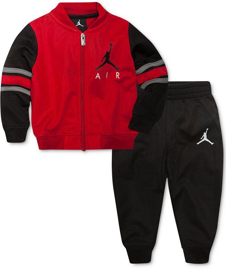 8571714edecc Jordan 2-Pc. Classic Varsity Jacket   Pants Set