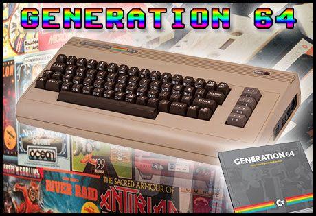 Generation 64, en bok om och för C64-fans #generation64