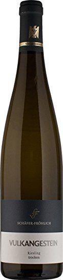 Weingut Schäfer Fröhlich Riesling Vulkangestein - Qualitätswein trocken (1 x 0.75 l)