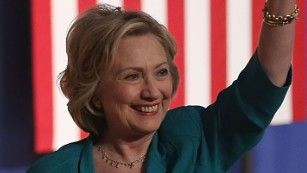 Hillary Clinton used a speech here Saturday to slam Alabama Republicans, including Gov. Robert Bentley, for the state's decision to close 31 driver's license offices and require proof of citizenship to vote.