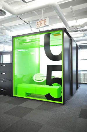 Colorful box  Client Name: PALM HAVAS Project Location: Montreal, QC Firm Name: Champigny Raymond Studio