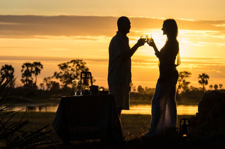 Set on a small island in the heart of #Botswana's pristine Okavango Delta, intimate Xigera Camp is paradise! #Africa #summer #romance #travel